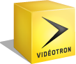 head videotron logo yellow